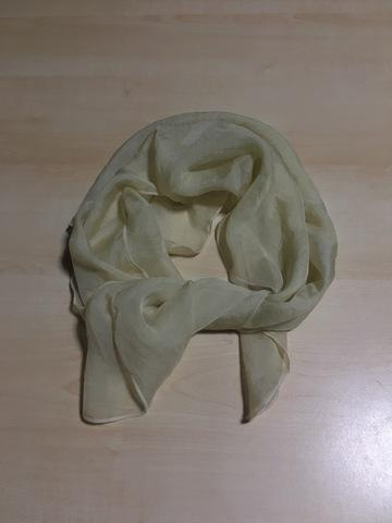 蓬染め・シルクスカーフ(65×65cm)