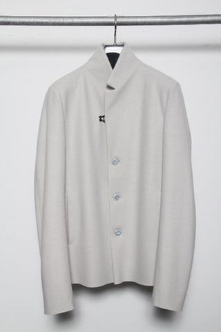 カシミア混ニットフラノ 3Bジャケット