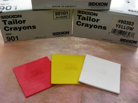 Dixon Tailor Crayons