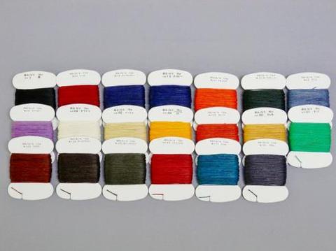 麻糸ハンズラミー16/4ロー付 10mカード全20色セット