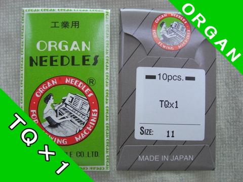 オルガン針TQ×1