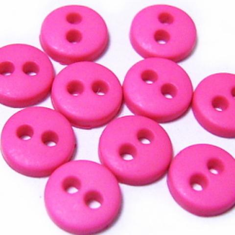 ミニボタン6ミリ(ピンク)