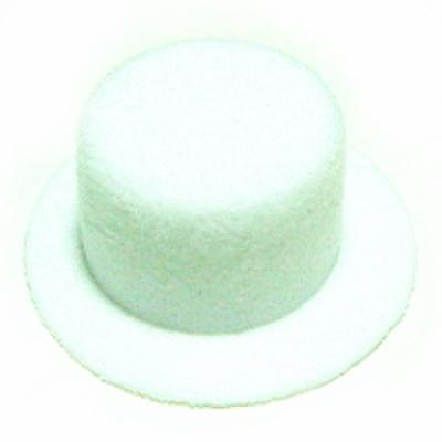 ミニハット・フロッキー     (白)