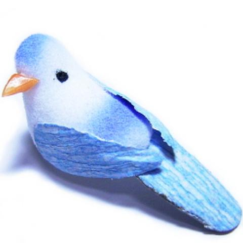 小鳥(青)