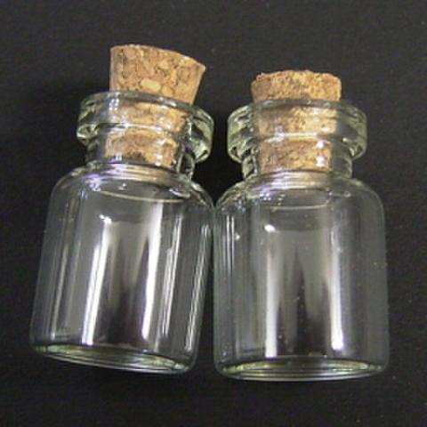 特価品・ガラスの小瓶(小)2ヶセット
