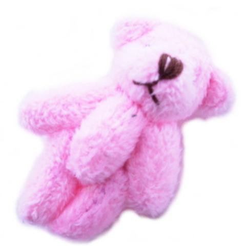 ちびふわくま(ピンク)