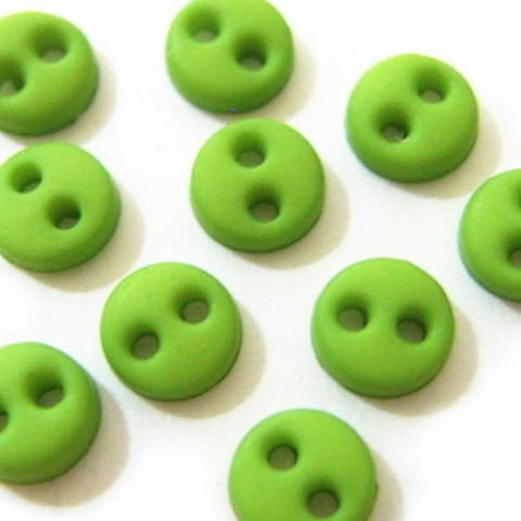 ミニボタン4ミリ(黄緑)