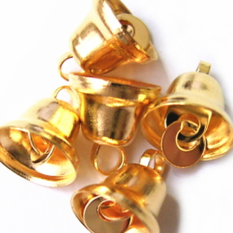 ミニミニベル8mm(ゴールド)