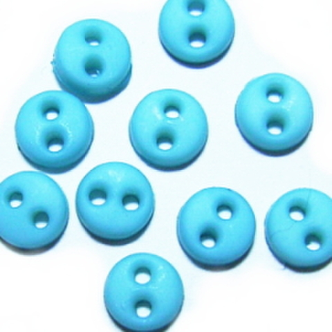ミニボタン4ミリ(ライトブルー)
