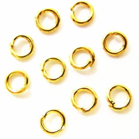 丸カン・3ミリ(ゴールド)