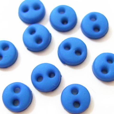 ミニボタン4ミリ(薄めの青)
