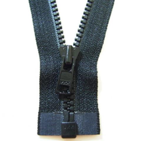 ミニオープンファスナー・3ビスロン(黒)