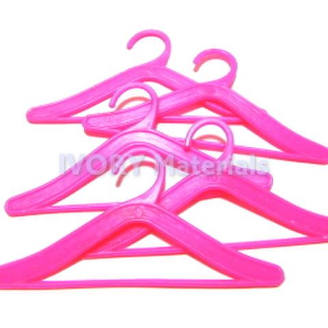 特価品・樹脂ハンガー5ヶセット(ピンク)