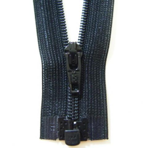ミニオープンファスナー・3コイル(黒)