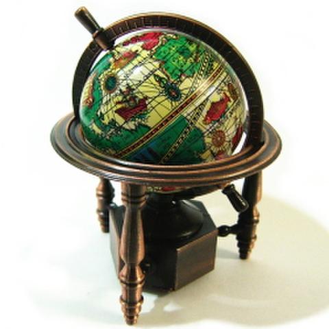 レトロ鉛筆削り・地球儀
