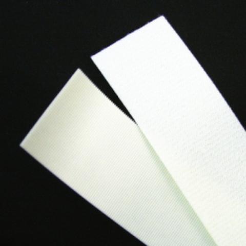 メカニカルファスナー・単品・裏のりタイプ(白)