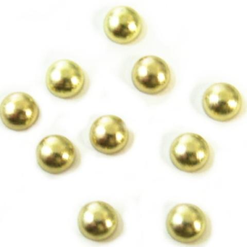 ホットフィクス・丸ポコ4ミリ(ゴールド)