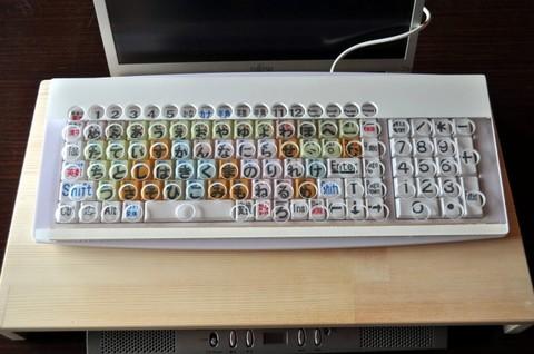 在庫限りキーガードとキーボードのセット