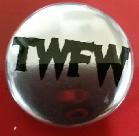 TWFW SILVER  METAL BADGE 小(直径25mm)