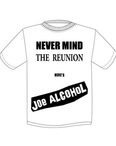NEVER MIND T-Shirts  WHITE&BLACK