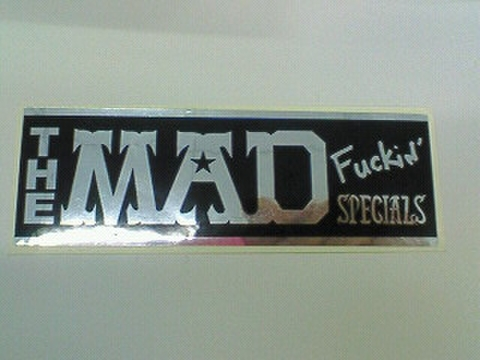 THE MAD SPECIALS STICKER