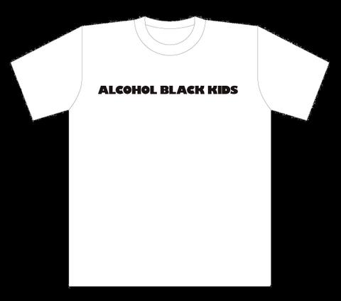 ALCOHOL BLACK KIDS T-Shits WHITE