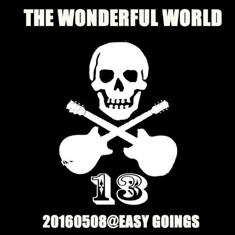 THE WONDERFUL WORLD 20160508@越谷EASY GOING(MP3データ)