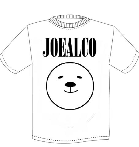【予約3/上旬発送】JOEALCO KUMA Tシャツ ホワイト