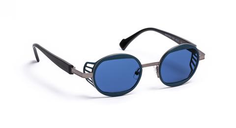 NAUTINEW col 0020SOL(ruthenium/blue)サングラス