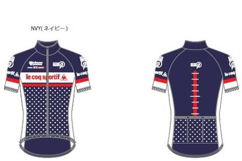 Tour of Japanサイクルジャージ<ドット>