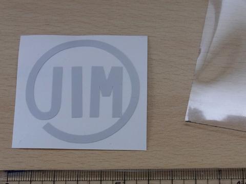 「JIMマーク」 タイプN グレー 汎用 JA11 JB23など