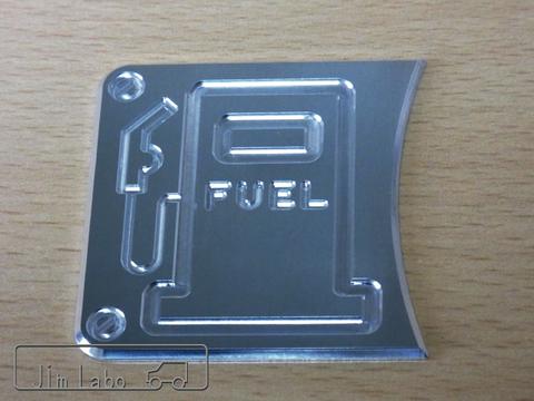 「FUEL2」パネル アルミ削り出し品 JA11 JA22
