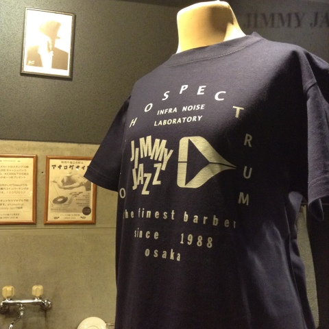 (Lサイズ)ORTHOSPECTRUM x JIMMY JAZZコラボTシャツ