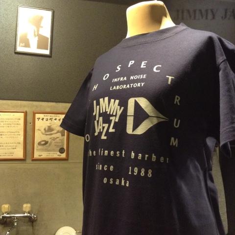 (Mサイズ)ORTHOSPECTRUM x JIMMY JAZZコラボTシャツ