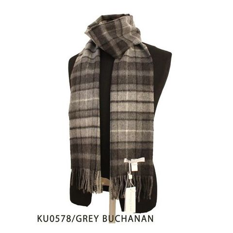 MUFFLER-KU0578/GREY BUCHANAN