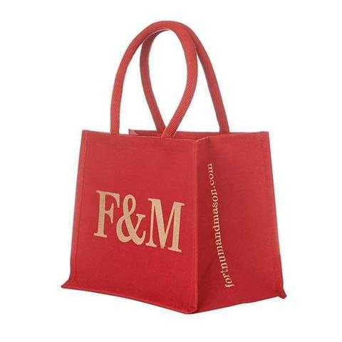 フォートナム&メイソン/Fortnum & Mason F&M エコバッグ(小サイズ)