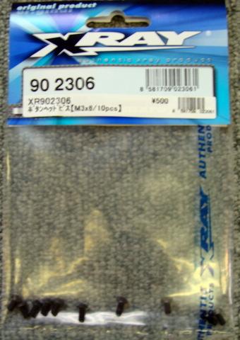 902306ボタンヘッドビスM3×6