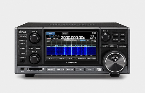 アマチュア無線 デジタル通信対応受信機 IC-R8600