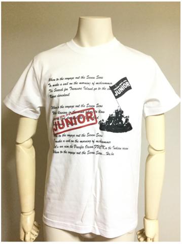 【Tシャツ】英詩ロゴスタンプ