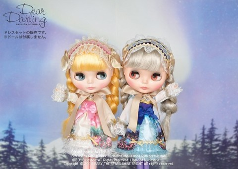 Junie Moon「Dear Darling Fashion for Dolls(ディアダーリン・ファッション・フォー・ドールズ)」第一弾! 大人気ロリータファッションブランド「BABY,THE STARS SHINE BRIGHT」コラボドレス『月夜の森の AURORA Soirée(オーロラソワレ)』