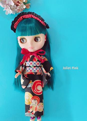 浴衣 文化人形