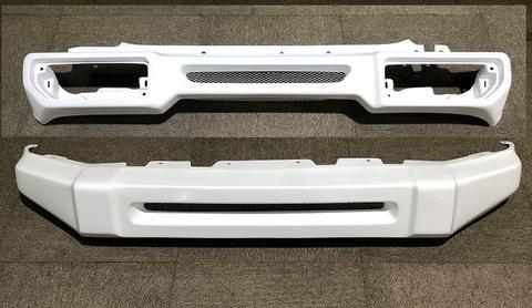 【Y-9】T-1フロント/リアFRPバンパーSET