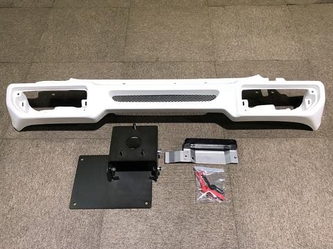 【Y-4】T-1リアバンパー+ナンバー移動キット+スペアタイヤ移動ブラケットSET