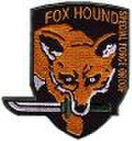 FOXHOUNDパッチ メタルギア