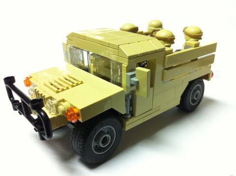 M1097A2ハンヴィーAAC :海兵隊デザート仕様