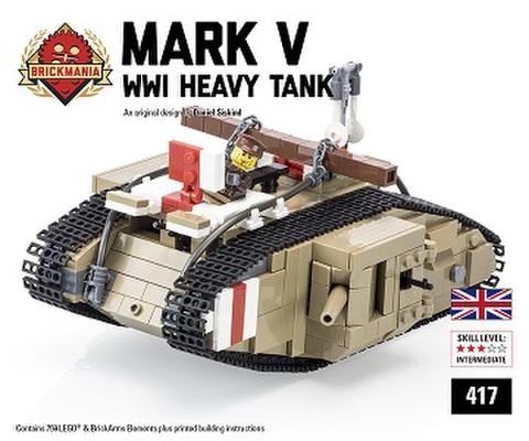 イギリス軍 Mark V WW1重戦車