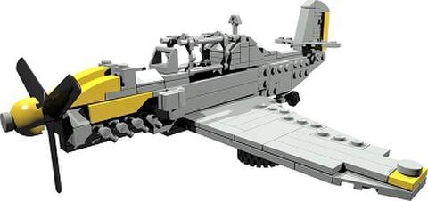 【PDF説明書データ】メッサーシュミット Bf109 ホルニッセバージョン