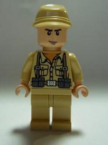 ドイツ兵・笑顔(フィールドキャップ)