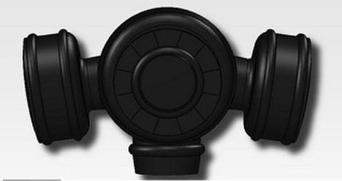 GS00ガスマスク用キャニスター(SAS型)