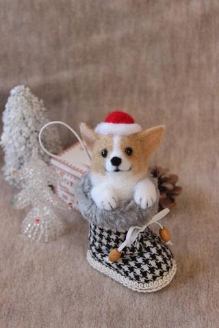 2015クリスマス*ブーツコーギーC